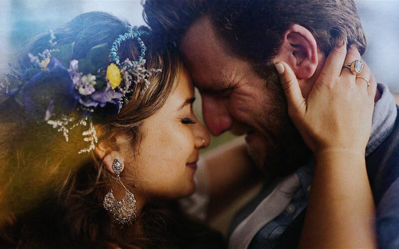boho romantic beach wedding florida