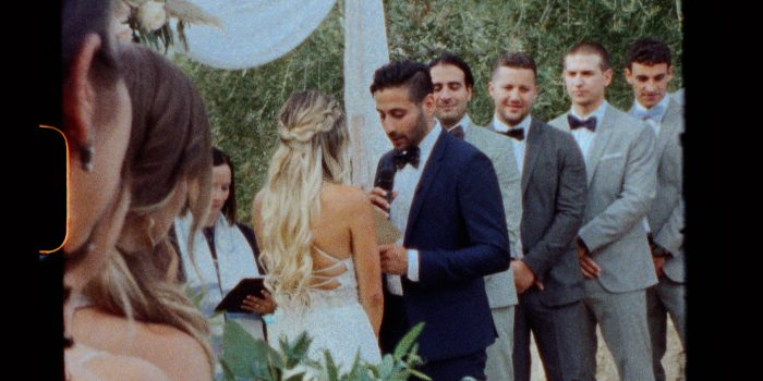 Jess Ben Palm Springs Wedding Video Super 8mm Camera Fun Different Love
