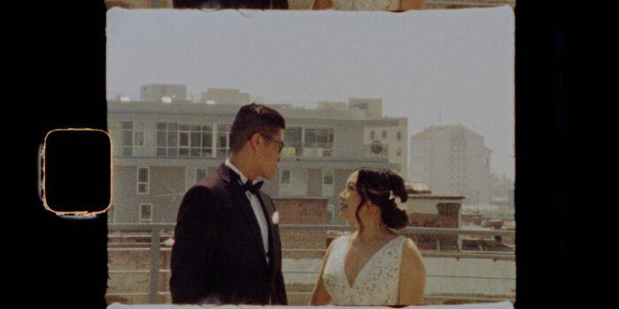 Jenn&George | Hudson Loft | Los Angeles, CA || 8 Min | Super 8 Film
