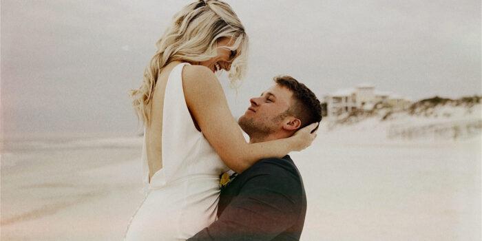 Delaney&Zac | Estate Beach Wedding | Cape San Blas, FL || Wedding Film