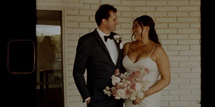 Andrea&Jim | Estate Wedding | Mesa, AZ || 3 Min | Super 8 Film