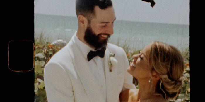 Erin&Justin | The Resort | Longboat Key, FL || 2 Min | Super 8 Film